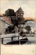 Cp Katzenelnbogen Im Rhein Lahn Kreis, Straßenpartie, Brücke, Burg - Deutschland