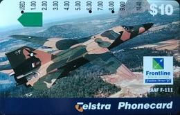 AUSTRALIE  -  Phonecard  -  Frontline  -  $ 10 - Australia