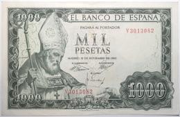 Espagne - 1000 Pesetas - 1965 - PICK 151a.2 - TTB+ - [ 3] 1936-1975 : Régence De Franco