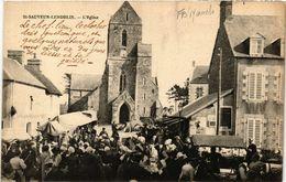 CPA Saint-Sauveur-Lendelin - L'Eglise (633360) - Saint Sauveur Le Vicomte