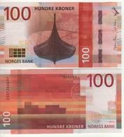 NORWAY  New Attractive  100 Kr  2018  ( P54 )  UNC - Noorwegen