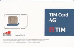 GSM WITH CHIP ITALIA TIM 4G (E62.6.5 - [2] Handy-, Prepaid- Und Aufladkarten