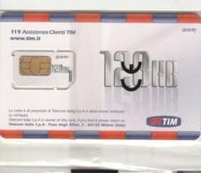 GSM WITH CHIP ITALIA TIM (E62.6.3 - [2] Handy-, Prepaid- Und Aufladkarten