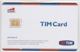 GSM WITH CHIP ITALIA TIM (E62.7.1 - [2] Handy-, Prepaid- Und Aufladkarten