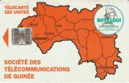 PHONE CARD GUINEA (E62.1.1 - Guinee