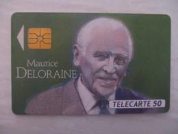 TÉLÉCARTE FRANCE - MAURICE DELORAINE - FRANCE TELECOM BON ETAT - Characters