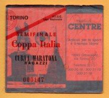 Biglietto Ingresso Stadio Semifinale  Coppa Italia - Tickets - Vouchers