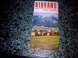 Autriche Vieux Papier Dépliant Touristique Aldrans Tyrol Année 70/80?? - Tourism Brochures