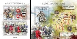 Togo 2020, Battle Of Grunwald, 4val In BF +BF - Geschiedenis