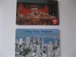 """Télécarte De Hong Kong """"les Premieres"""" - Hong Kong"""