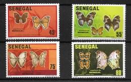 SENEGAL 1982  BUTTERFLIES MNH - Butterflies