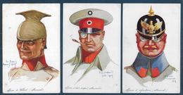 Guerre De 14 - Soldats - 15 Cartes Illustrateur Dupuis - Uniformes
