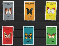 SENEGAL 1963  BUTTERFLIES MNH - Butterflies