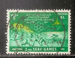 BIRMANIE      OBLITERE - Myanmar (Burma 1948-...)