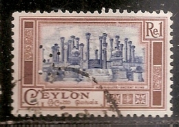 CEYLAN     OBLITERE - Sri Lanka (Ceylon) (1948-...)