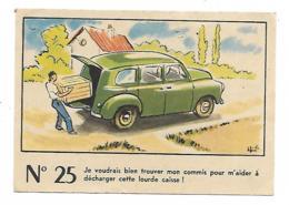 IMAGE CHROMO N°25 PUB GRAND CONCOURS DE LA FROMAGERIE DU MOULIN DE GAYE, MARNE ( 1er PRIX : VELO SOLEX ) - Other