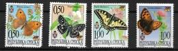 SERBIA 2001 BUTTERFLIES MNH - Butterflies