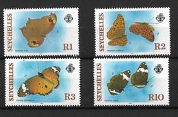 SEYCHELLES 1987 BUTTERFLIES MNH - Butterflies
