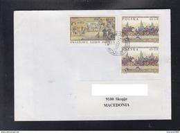 POLAND, COVER ART HISTORY / REPUBLIC OF MACEDONIA ** - 1944-.... Republic