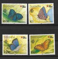 SEYCHELLES 1991 BUTTERFLIES MNH - Butterflies
