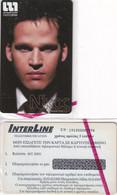 GREECE - Nikos Halvatzis(model), Interline Promotion Prepaid Card, Exp.date 30/08/04, Mint - Greece