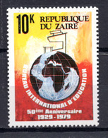 1979 -  ZAIRE -  Mi. Nr.  620 - NH - (AS2302.48) - Zaïre