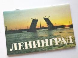 Russia 1988 Vintage / Brochure - LENINGRAD / K.I. Logachev / Lenizdat / 32 Pages / Color Photos / Fine Condition - Tourism Brochures