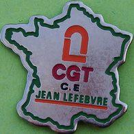 MM 547..........TRAVAUX PUBLIC......CGT     ...JEAN  LEFEBVRE - Badges