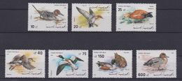 Yemen Ducks Birds 533-540 SET & Imperf Souvenir Sheet Block MNH A04s - Yemen