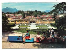 CP VARESE, GIARDINI ESTENSI. DIVERTIMENTO DI BIMBI. TRENINO. PETIT TRAIN. LOMBARDIE, ITALIE - Varese