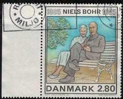Danemark 1985 Oblitéré Used Niels Bohr Physicien Et épouse Margrethe Norlung SU - Dänemark