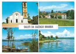 CP MULTIVUES SALUTI DA CAZZAGO BRABBIA, LOMBARDIE, ITALIE - Other Cities