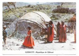 CARTE DEPLIANTE MEILLEURS VOEUX DE DJIBOUTI POUR LA NOUVELLE ANNEE, REPUBLIQUE DE DJIBOUTI - Djibouti