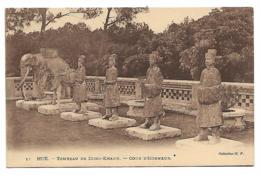 CPA HUE, TOMBEAU DE DONG - KHANH, COUR D'HONNEUR, VIET NAM - Vietnam