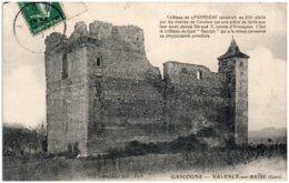 32 VALENCE-sur-BAISE - Chateau De Lagardère - Altri Comuni
