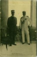 LIBYA / LIBIA - GUERRA ITALO / TURCA / TURKEY - GENERALE GANEVA E IL VICE AMMIRAGLIO BOREA RICCI - 1910s (BG8277) - Libye