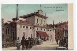 UN SALUTO DA RECOARO  R. STABILIMENTO - Vicenza
