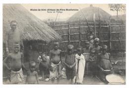 CPA MISSION DU SHIRE DES PERES MONTFORTAINS, SCENE DE VILLAGE, ETHIOPIE - Ethiopia
