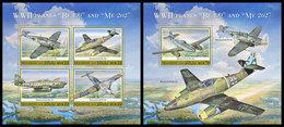 MALDIVES 2020 - WW2 Planes: Messerschmitt. M/S + S/S Official Issue [MLD191112] - WO2