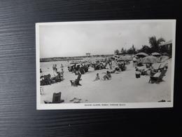 Bahamas Islands - Nassau - Paradise Beach - Real Photo - Postcards