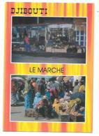 CP DOUBLE VUE, LE MARCHE, DJIBOUTI - Djibouti