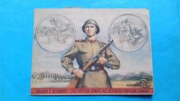 Romania Rumanie Bucuresti Propaganda 1952 Traiasca 2 Octombrie Ziua Fortelor Armate - Romania
