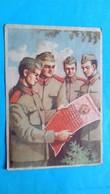 Romania Rumanie Bucuresti Propaganda 1950 Juramantul Militar - Romania
