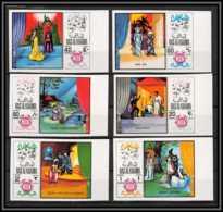 Ras Al Khaima - 528a/ N° 281/286 B Musique Music Opéra Verdi Wagner Mozart Neuf ** MNH Bord De Feuille - Ras Al-Khaima
