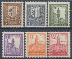 Sowjetische Zone, MiNr. 150-155 Y, Postfrisch / MNH - Soviet Zone