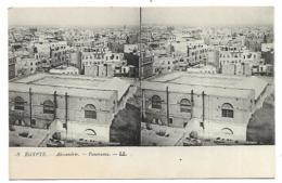 CPA ALEXANDRIE, PANORAMA, EGYPTE - Alexandria