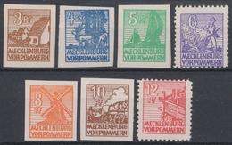 Sowjetische Zone, MiNr. 29-36 X, Postfrisch / MNH - Soviet Zone