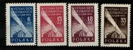 Polen, MiNr. 493-496, Postfrisch / MNH - Poland