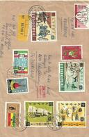 ETHIOPIA 1968 REGITERED COVER TO SWITZERLAND - Ethiopia