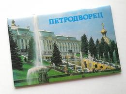Russia 1987 Vintage / Brochure - PETRODVORETS / I.M. Gurevich / Lenizdat / 32 Pages / Color Photos / Fine Condition - Tourism Brochures